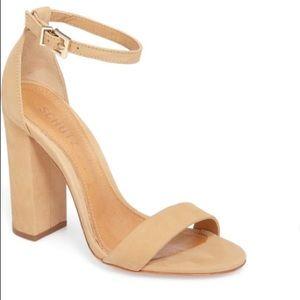 Schutz Enida Suede Sandals Size 6